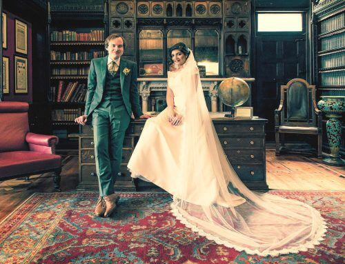 Wes Anderson-Inspired Wedding Photography at Highbury Hall